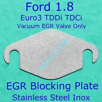EGR valve blanking plate Ford Connect (Transit), Focus, Mondeo 1.8 TDDI TDCi S/S