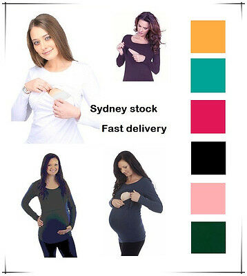 Breastfeeding top,maternity dress,T-shirt,nursing breastfeeding wear,long sleeve