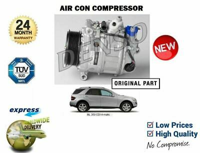 FOR MERCEDES ML350 CDi 4MATIC 2008-> AC AIR CONDITIONING COMPRESSOR A0022305811