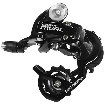 SRAM Rival 10 Speed Road Bike Bicycle Cycling Rear Derailleur Short Cage - Black