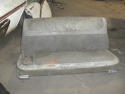57 OLDS 88 98 FRONT BENCH SEAT FRAME