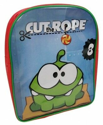 Cut The Rope Pvc Front School Bag Rucksack Backpack Brand New Gift