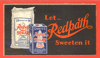 Canada Multicolor Advertising Cvr, Redpath Sugar. Quebec, Oct 4, 1934, XF