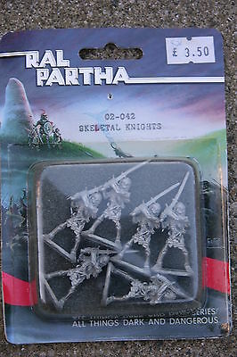 Ral Partha, Skeletal Knights,blister  #02-042