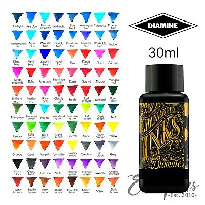 Diamine Bottled Ink Bottle 30ml For Fountain Pens