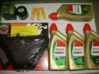 Kit Tagliando Castrol Power1 10W-40 Triumph Speed Triple 1050 2005