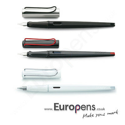 Lamy Joy Fountain Italic Calligraphy Ink Cartridge Pen - BLACK / RED / WHITE
