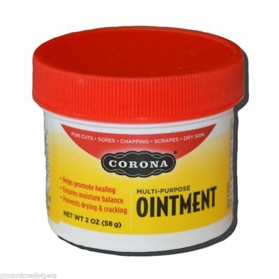Corona ointment 2oz cuts, abrasion, sores with minimal scaring