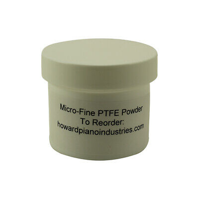 PTFE Powder - Lubricant for Grand Piano Knuckles - 2 oz jar