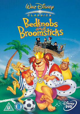 Bedknobs And Broomsticks  - Disney - New / Sealed Dvd