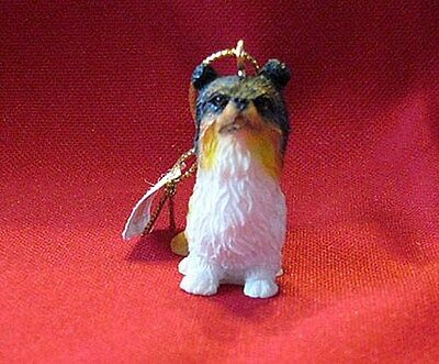 Collie Tiny Treasure Ornament, Purse Backpack Decor W/Free USA Shipping - New!!