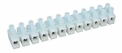SUNS TH-5012 UL Rated 50A300V Barrier Strip 12 Position 20-8 AWG Terminal Block