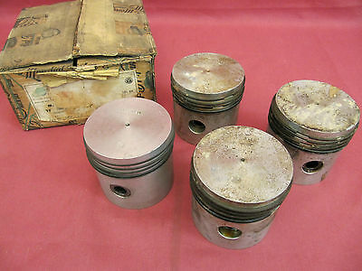 NOS MG TF Piston Set 1500cc .040