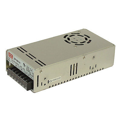Mean Well SP-200-5 AC to DC Power Supply Single Output 200 Watt US Distributor