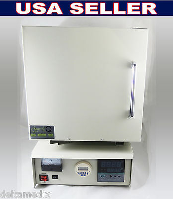 Dental Lab High Temperature Digital Furnace / Ceramic Fiber / 3300W 120V DentQ