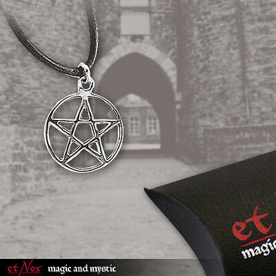 shadow-store - etNox magic and mystic Anhänger Kreis Pentagramm, Pentakel, klein
