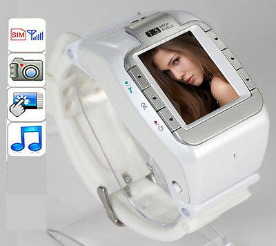 NEW Unlocked GSM Tri-Band Touch Mobile Watch Cell Phone Camera DV Bluetooth N388