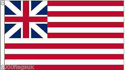 United States of America Grand Union First Navy Ensign 1776 5'x3' Flag