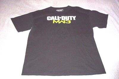 Activision Call Of Duty MW3 T-Shirt Mens Game Large Exclusive Decoration