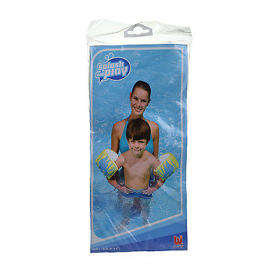Splash and Play kids Children's Toddler Blue Dolphin Swimming Pool Arm Bands