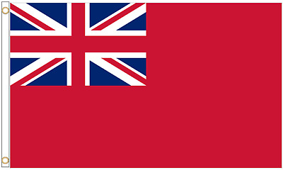 Merchant Navy Red Ensign / Red Duster 5'x3' Flag