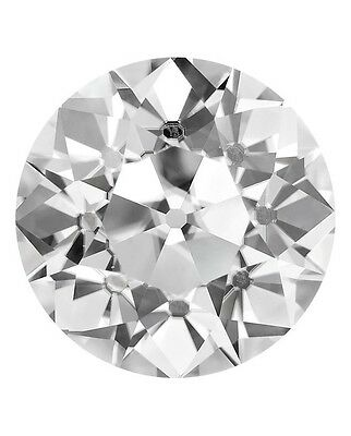 Loose OEC Old European Cut Forever Classic Moissanite with Certificate