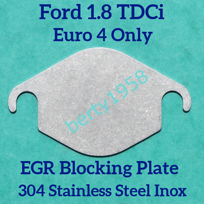EGR valve blanking plate Ford 1.8 TDCi Connect Focus Mondeo Galaxy cmax  Euro4