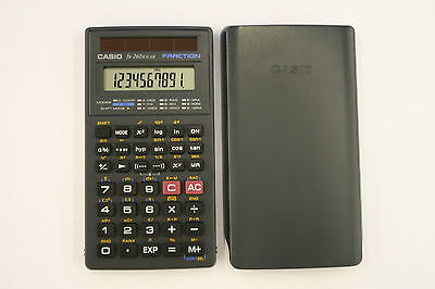 Casio fx-260 Solar Scientific Calculator with Cover ONLY