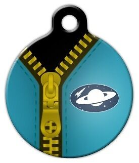 SPACEMAN SUIT - Custom Personalized Pet ID Tag for Dog and Cat Collars