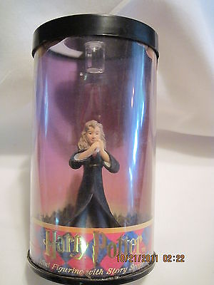 Harry potter Figurine & Scope...Hermione...1st edition...2000..sold by Avon...