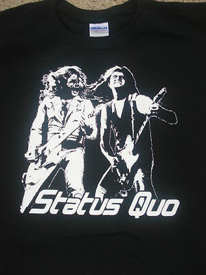 Status Quo francis rossi Shirt Choose Your Size S/M/L/XL Original Designs