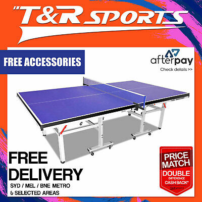 25Mm Top 50Mm Leg Tournament Quality Table Tennis Table Free Accessories