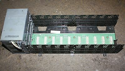 Allen Bradley SLC 500 1746-P2 1746 P2 power supply with 10 slot rack