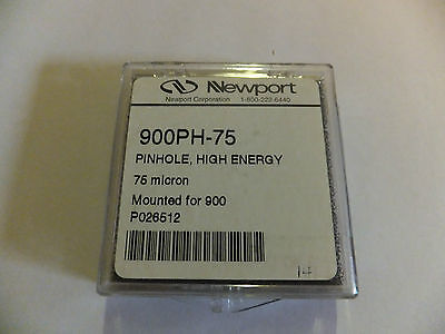 Newport 900PH-75 High-Energy Pinhole Aperture, 75±5µm Diameter