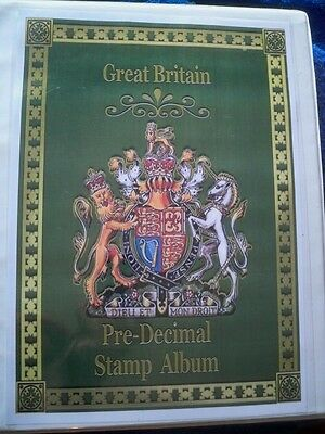 1840-1996 Great Britain album approx 950 stamps
