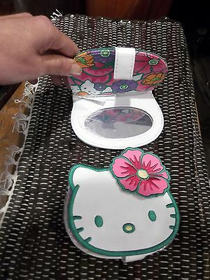 ORIGINALE SPECCHIO SPECCHIETTO DA BORSA HELLO KITTY  SANRIO