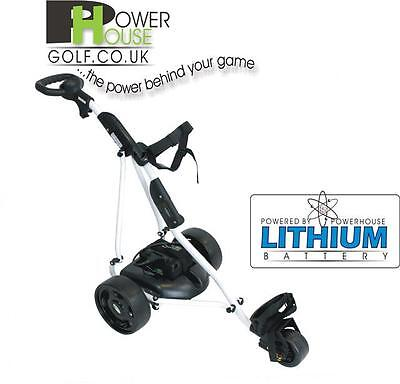 Powerhouse T2-S 18-27 Hole Lithium Battery Electric Golf Trolley