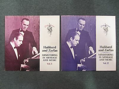 Lot of 2 Hubbard and Zarfas LPs~RARE Private Label 1960s Xian~Christian