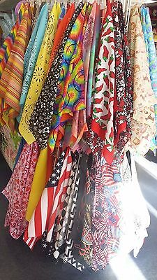 """Bandannas Made in USA Measures a full 22"""" x 22"""" Traditional Paisley HAVE A HANK"""