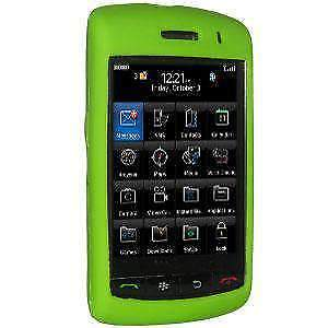 Amzer Green Silicone Case for BlackBerry Storm 9530