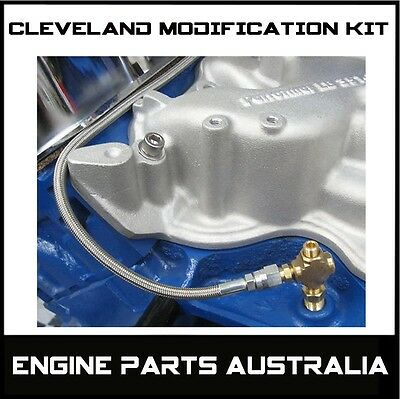 Ford Cleveland 302 351 Oil Line System Modification Kit Hot Rod Drag Race Car