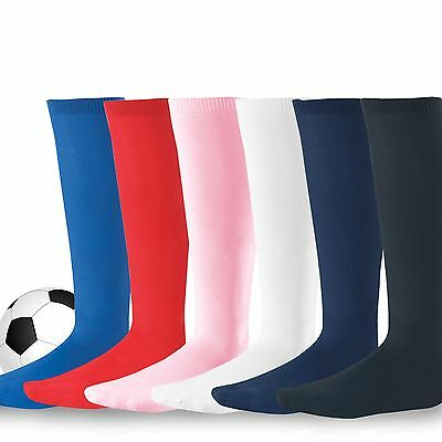 Soccer Sports Team CushionTube Socks for Children, Youth, Women, Men 3 Pair, NWT