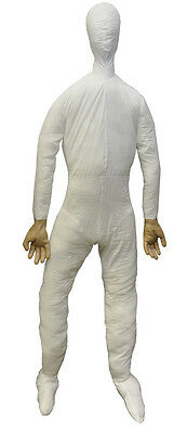 LIFESIZE POSEABLE DUMMY 6 FT FULL SIZE WITH HANDS PROP Haunted House Halloween