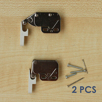2 pcs press open door catch latch tip touch push cabinet cupboard