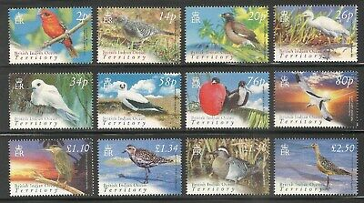 British Indian Ocean Territory #274-285 VF MNH - 2004 Birds Definitive Set