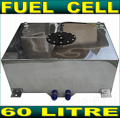 Fuel Cell 60L Litre 15 Gallon Aluminium Fuel Tank + Sender & Internal Foam Layer