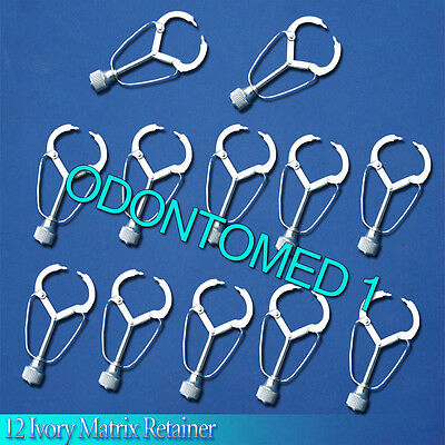 12 Ivory Matrix Retainer Dental Instruments ODM