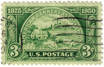 (USA309) 1950 3c green symbolic of investments ow984