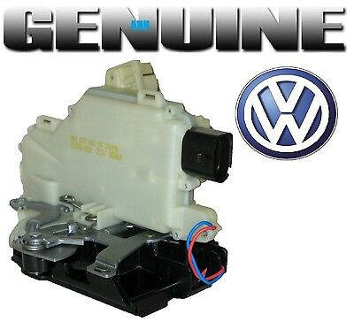 Genuine Volkswagen Front Left Door Lock Actuator    Beetle Golf Jetta Passat