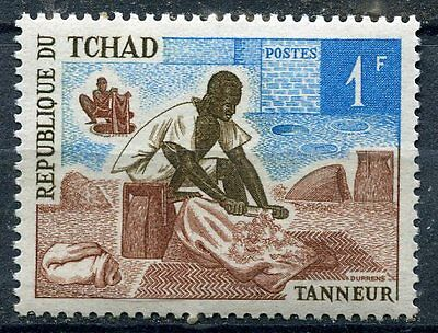 Timbre Tchad Tanneur